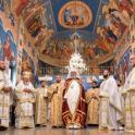 Sfinţirea bisericii Soborul Maicii Domnului de către Preafericitul Părinte Daniel