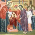 Intrarea Maicii Domnului in Templu - Intampinarea Maicii Domnului