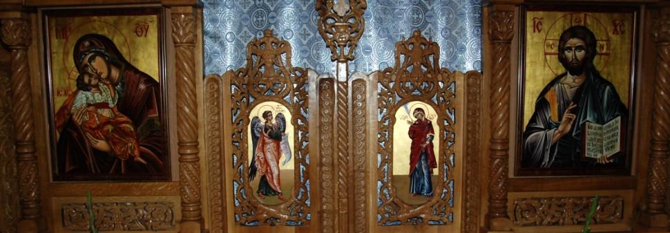 Biserica Soborul Maicii Domnului - Catapeteasma