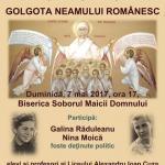 conferinta Golgota Neamului Romanesc