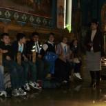 Cateheza cu elevii Scolii Gimnaziale Liviu Rebreanu