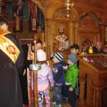 Biserica Soborul Maicii Domnului -Taina Impartasaniei