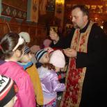 Biserica Soborul Maicii Domnului - Impartasirea copiilor de la Gradinita 216
