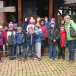Copii la parohia Soborul Maicii Domnului