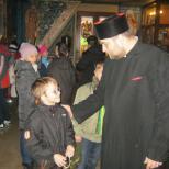 Copii in biserica Soborul Maicii Domnului
