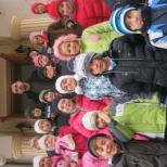 Copii din Scoala 21 Bucuresti